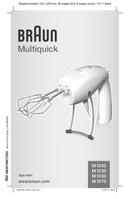 Braun Multiquick M 1050 pagina 1