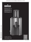 Braun Multiquick 5 J500 pagină 1