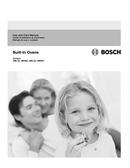 Bosch 300 Series HBL3450UC pagină 1