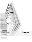 Bosch 800 Series B22CT80SNS pagina 1