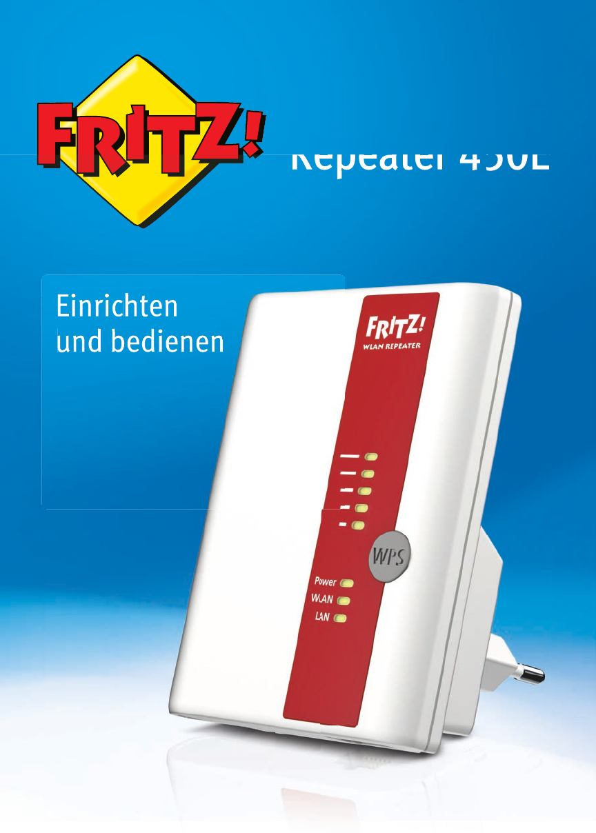 AVM FRITZ!WLAN Repeater 8E International manual