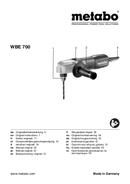 Página 1 do Metabo WBE 700