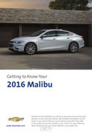 Pagina 1 del Chevrolet Malibu (2016)