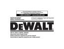 DeWalt DWE46151 page 1