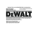 DeWalt D28497 side 2