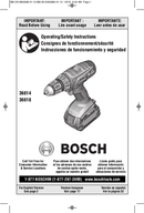 Bosch 36618B sivu 1