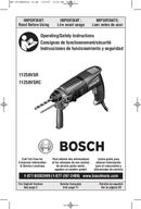 Bosch 11258VSR pagina 1