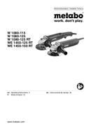 página del Metabo W1080RT 1