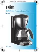 Braun CafeHouse PurAroma DeLuxe Timer KF 590 pagina 1