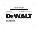 DeWalt DWE4559CN page 1