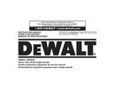 DeWalt DW802G page 1