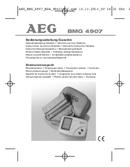 AEG BMG 4907 sivu 1