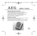 AEG BMG 4906 sivu 1