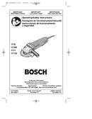 Bosch 1810PSD pagină 1