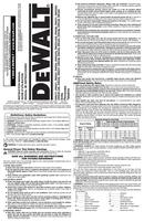 DeWalt DW249 page 1