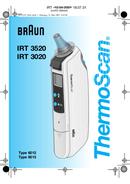 Pagina 1 del Braun ThermoScan 6012