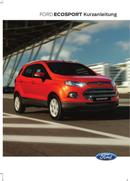 Ford EcoSport (2014) Seite 1