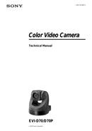 Sony EVI-D70PW sivu 1
