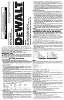 DeWalt DW160V page 1