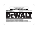 DeWalt DCD995 page 1