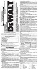 DeWalt D25012 page 1