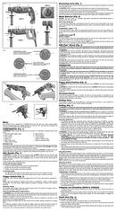 DeWalt D25012 page 2