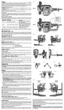 DeWalt DWD460 page 2