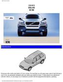 Volvo XC90 (2003) Seite 1