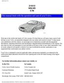 Volvo C70 (2003) Seite 1