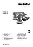 Página 1 do Metabo SXE 3125