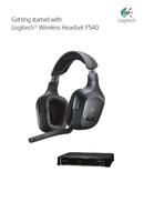 Logitech F540 Wireless sivu 1
