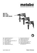 página del Metabo BE 1300-X3 Quick 1
