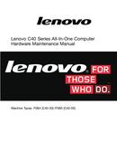 Página 1 do Lenovo C 40-30