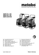 Metabo ASR50LSC sayfa 1