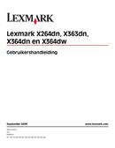 Lexmark X363dn side 1