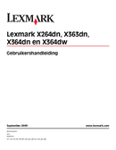 Lexmark X364dw side 1