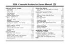 Pagina 1 del Chevrolet Avalanche (2008)