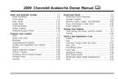 Pagina 1 del Chevrolet Avalanche (2009)