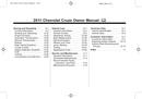 Pagina 2 del Chevrolet Cruze (2011)