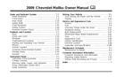 Pagina 1 del Chevrolet Malibu (2009)