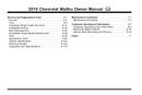 Pagina 2 del Chevrolet Malibu (2010)