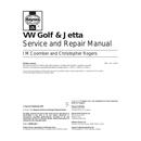 Volkswagen Golf (1984) Seite 1