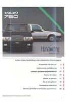 Volvo 760 (1987) Seite 1