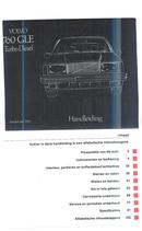 Volvo 760 GLE TDI (1983) Seite 2