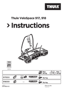 Thule VeloSpace 918 page 1