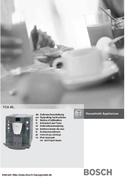 Pagina 1 del Bosch Benvenuto B20 TCA6001