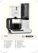 Pagina 1 del Bosch TKA8013