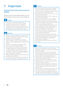Página 4 do Philips HU4901