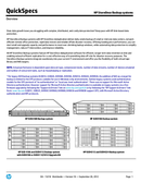 HP StorageWorks D2D2502i page 1