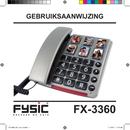 Pagina 1 del Fysic Big Button FX-3360